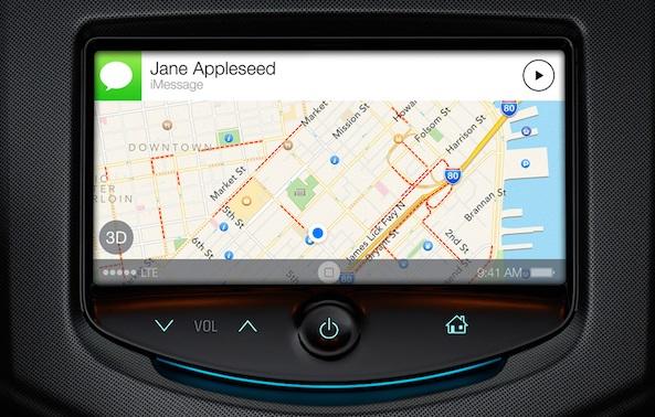 iOS 7 Siri Car-Integration