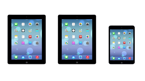 iOS 7 iPad y iPad mini