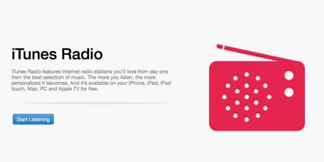 iTunes Radio Beta