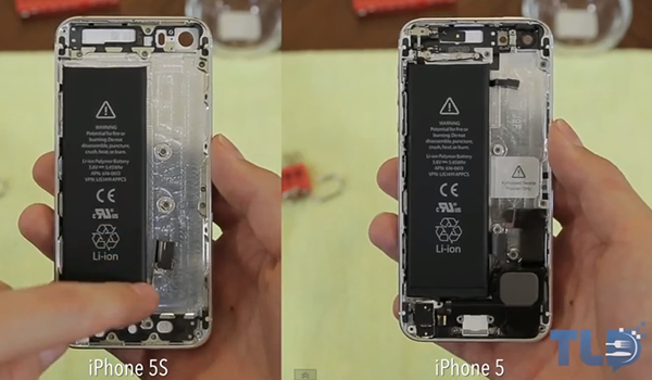 Introducir Hardware iPhone 5 en Carcasa iPhone 5S - 1