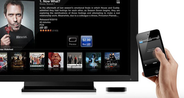 Apple TV iPhone