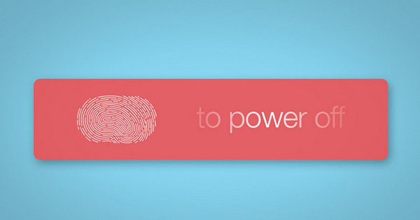 Caracteristica Touch ID Apagar iPhone