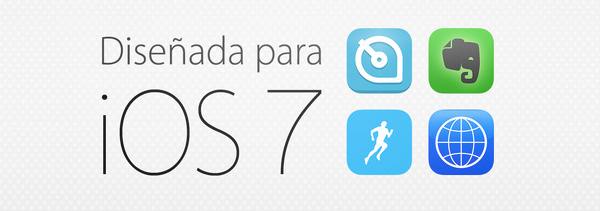 Diseñada para iOS 7