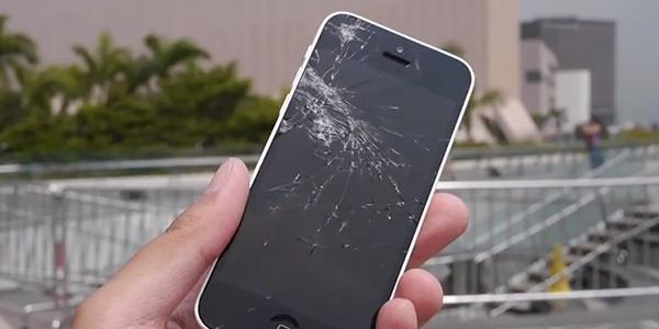 Test de Caidas iPhone 5s - iPhone 5c