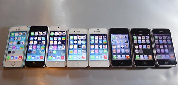 Test de Velocidad de Todos los iPhone Comercializados