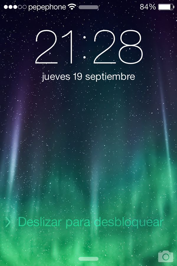 iO7 vs iOS 6 - Novedades de Uso - Pantalla Bloqueada