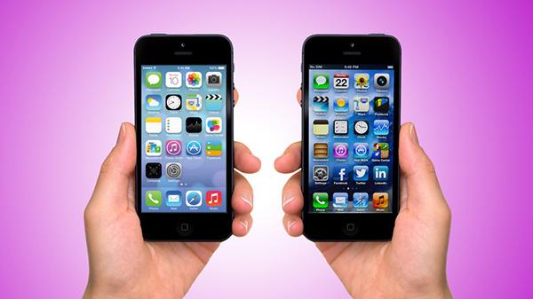 iO7 vs iOS 6 - Novedades de Uso