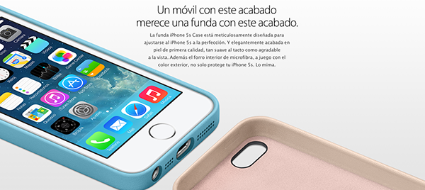 iPhone 5S Oficial - Fundas