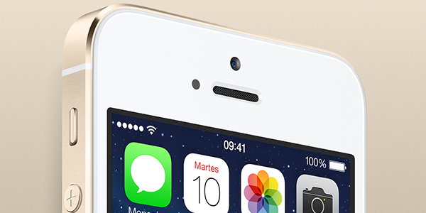 iPhone 5S - Oro Champagne - Apple