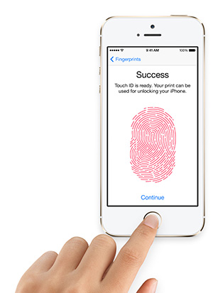 iPhone 5s Touch ID Apple
