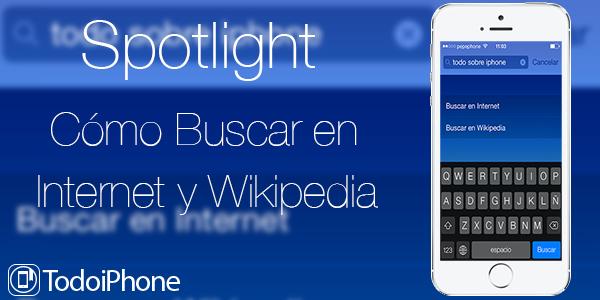 Como buscar internet wikipedia spotlight