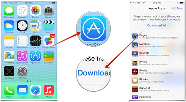 Descarga iWork Gratis App Store Pop Up