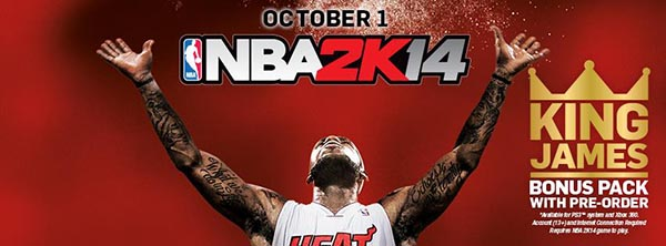 NBA 2K14 para iPhone iPod y iPad
