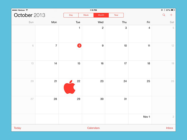 Posible Evento Apple 22 Octubre