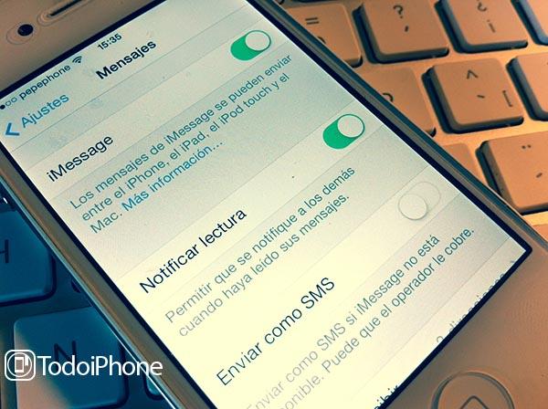 iMessage Solucion Fallo iOS 7