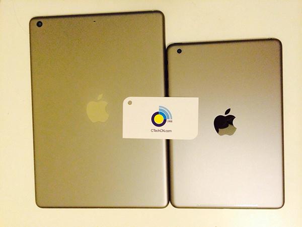 iPad 5 y iPad mini 2 carcasa dorada - 1