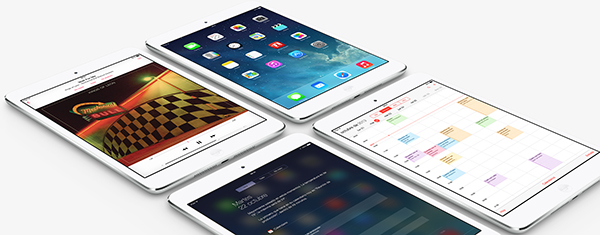 iPad mini Retina - iOS 7