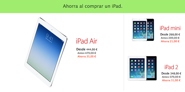 Black Friday Apple 29 Nov Descuentos - iPad