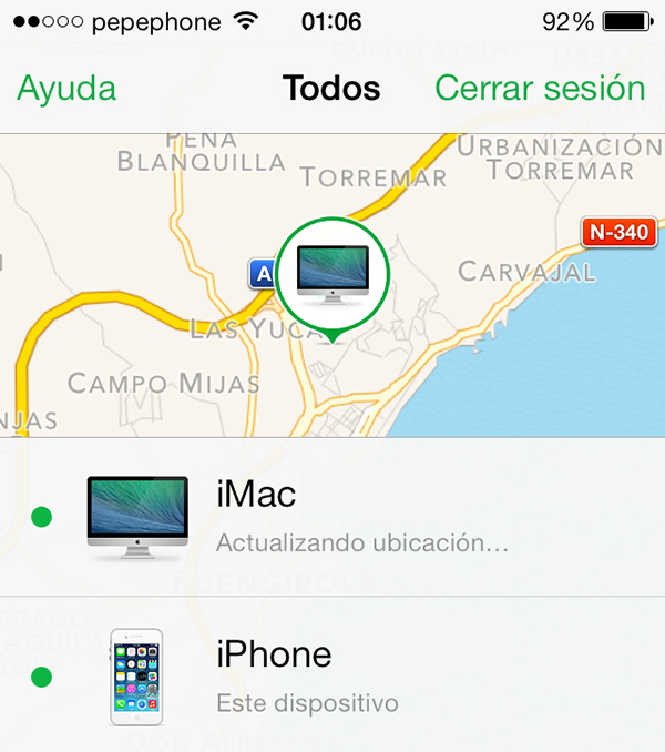 Como Configurar y Usar Buscar mi iPhone - Dispositivos