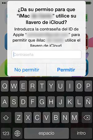 Configurar Llavero iCloud iPhone y iPad - 13