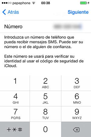 Configurar Llavero iCloud iPhone y iPad - 3