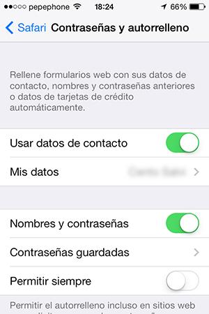 Configurar Llavero iCloud iPhone y iPad - 6