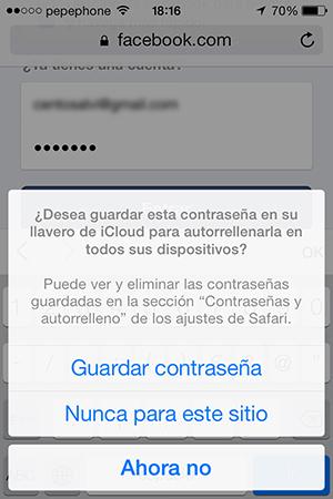 Configurar Llavero iCloud iPhone y iPad - 9