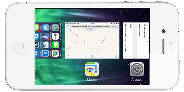 Solucion Error Verificacion Software Nuevo iOS 7 - Multitasking
