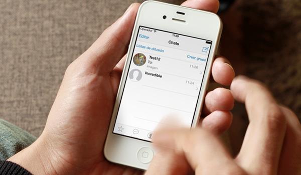 Whatsapp iOS 7 iPhone