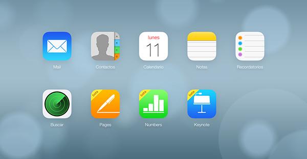 iCloud Documentos en la Nube