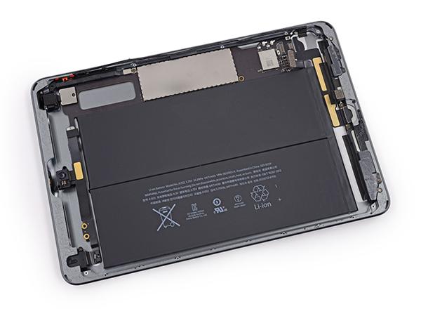 iPad mini Retina Desmontaje - Bateria