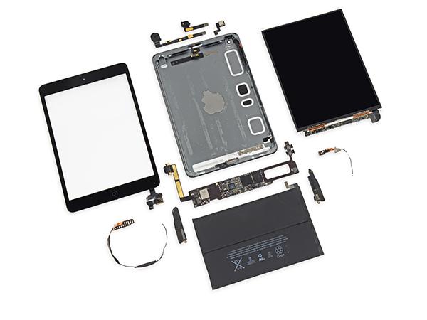 iPad mini Retina Desmontaje - Componentes
