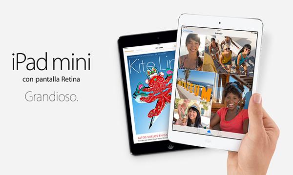 iPad mini Retina - Grandioso