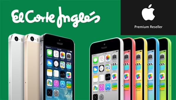 iPhone 5s iPhone 5c Libre Corte Ingles - APR