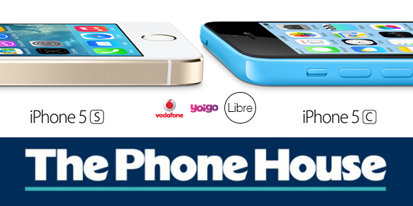 iPhone 5s iPhone 5c Libre TPH