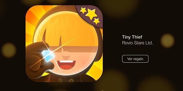 12 Dias Regalos - Tiny Thief Rovio