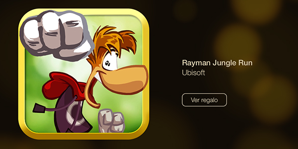Rayman Jungle Man - 12 dias regalos