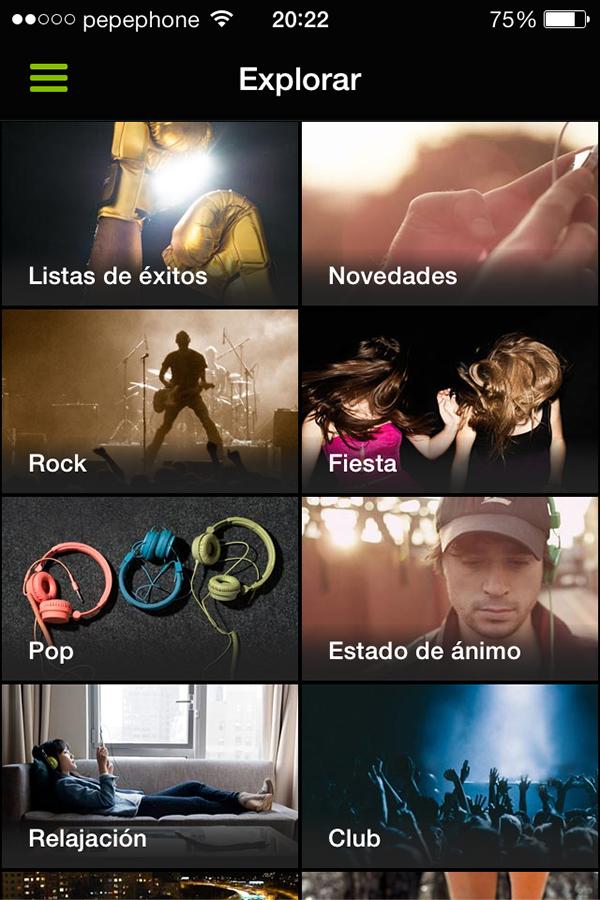 Spotify Modo Shuffle Gratuito iPhone