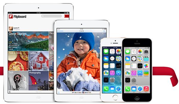 iPhone iPod iPad Navidad 2013