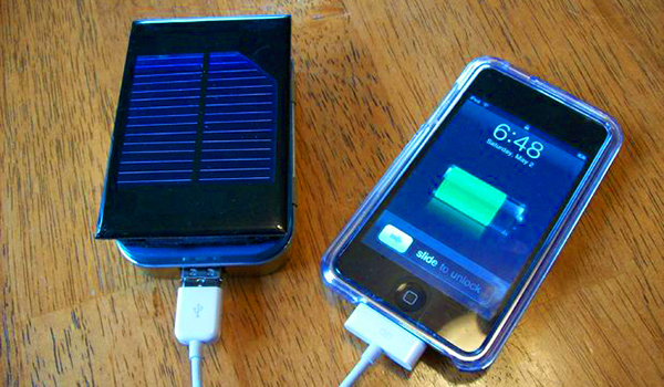 Bateria Solar iPhone