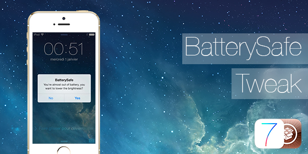 BatterySafe Save Your iPhone's Battery with Jailbreak 1