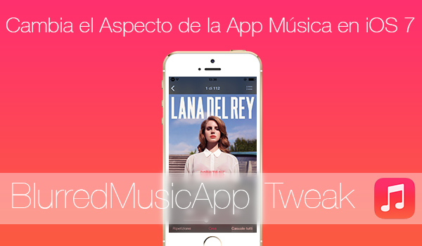 BlurredMusicApp Tweak