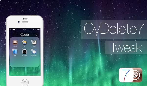 CyDelete7 - Tweak