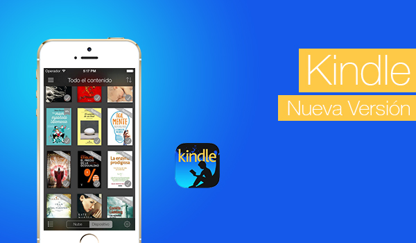 Kindle Nueva Version Logo