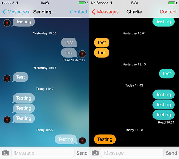 Messages Customiser - iMessage