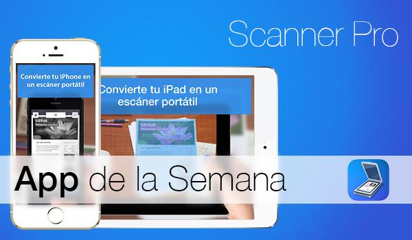 Scanner Pro - App de la Semana