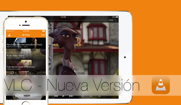 VLC Nueva Version iOS 7