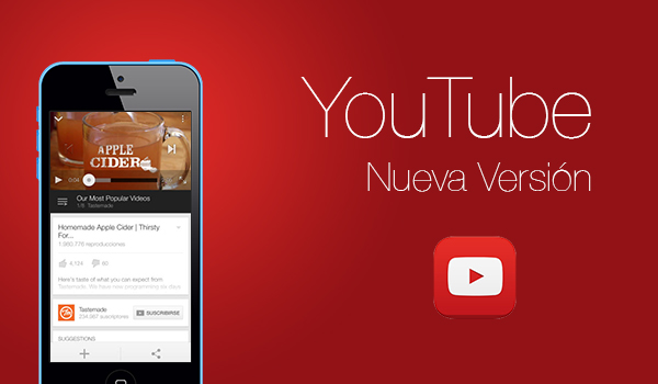 YouTube Logo - Nueva Version