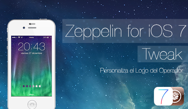 Zeppelin for iOS 7 - Tweak