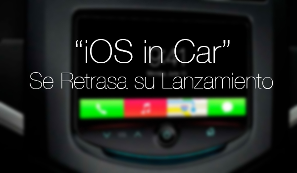 iOS in Car - Retrasa Debut